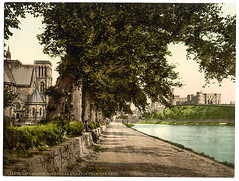 [Cathedral and castle from the Ness, Inverness, Scotland] (LOC) (The Library of Congress) Tags: libraryofcongress scotlandcastle xmlns:dc=httppurlorgdcelements11 dc:identifier=httphdllocgovlocpnpppmsc07612