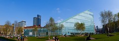 107:365 - URBIS... (ASBO Allstar) Tags: panorama glass facade manchester unitedkingdom citycentre urbis hugin sigma30mm project365 iansimpson project3661 halcrow asboallstar