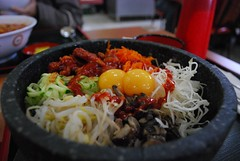 BBQ Chicken Dolsot Bibimbap - Hello Cook AUD9.50 (avlxyz) Tags: food chicken stone mixed rice melbourne bowl korean bibimbap dolsot stonepot chadstone  holmesglen eastmalvern  hellocook