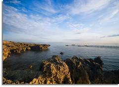 """Rocks on Discovery Bay # 2"" :: Mactan Island Cebu-DRI (alner_s) Tags: life park blue sea sky sun love beach sunrise boat nikon rocks sigma 1020mm discoverybay d60 sigma1020mm love nikond60"