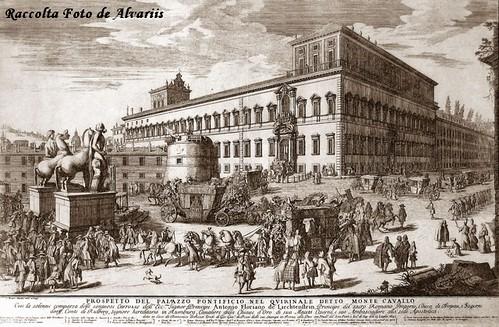 1692 2005 Prospetto del Palazzo Pontificio a, di Gomar Wouters