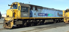 DX 5454 Wellington NZ (AA654) Tags: newzealand rail loco nz wellington locomotive dx tranzrail kiwirail