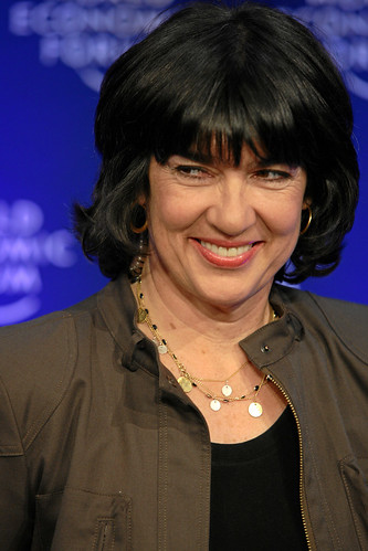 Christiane Amanpour, Chief International Correspondent, CNN International, USA {img: WEF swiss-image.ch/Photo by Remy Steinegger}