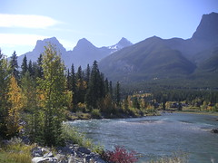 The Bow River (jim watt) Tags: alberta canmore bowriver