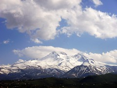 ('sema) Tags: winter mountain spring trkiye bahar da erciyes mevsim