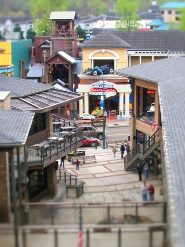Fake Tilt Shift - Gatlinburg, TN