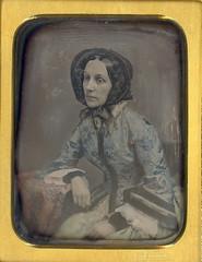 Black bonnet (Mirror Image Gallery) Tags: daguerreotype bonnet gurney