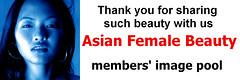 asian female beauty icon