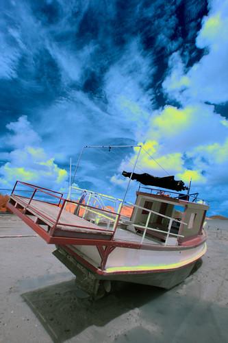 Phuket | Boat @ Chalong Bay (IR)