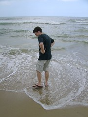 Toes in Atlantic