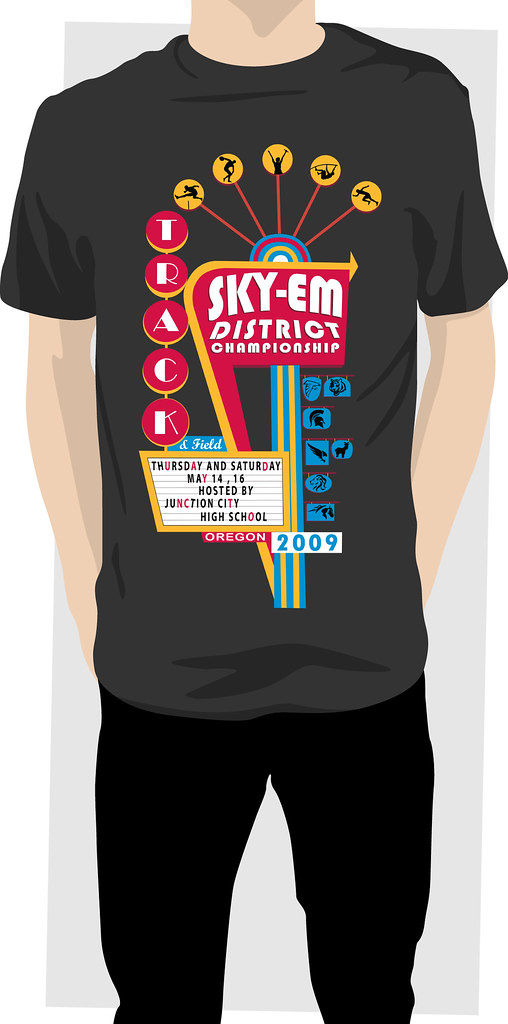 Sky-Em District Tshirt