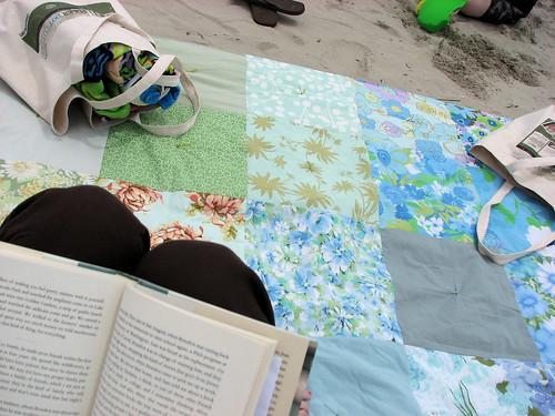 my spot on the beach