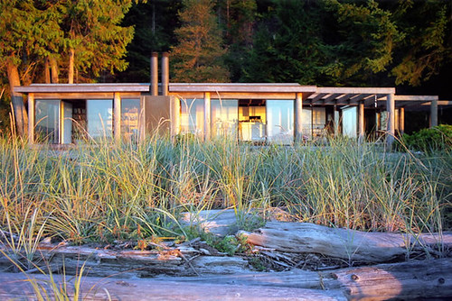 The Keevil House, Savary Island, BC