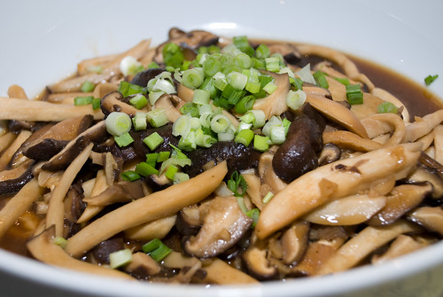Mix Mushroom with Oyster Sauce