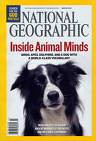 National Geographic cover with dog pictured