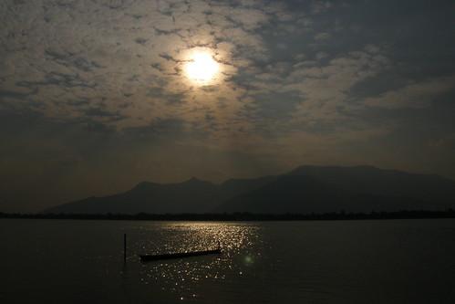 151.Don Daeng島上湄公河的日落 (4)