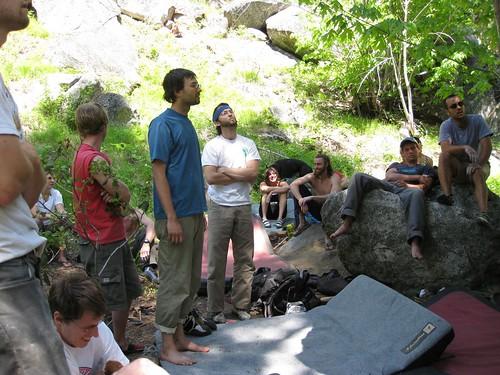 Leavenworth, WA bouldering