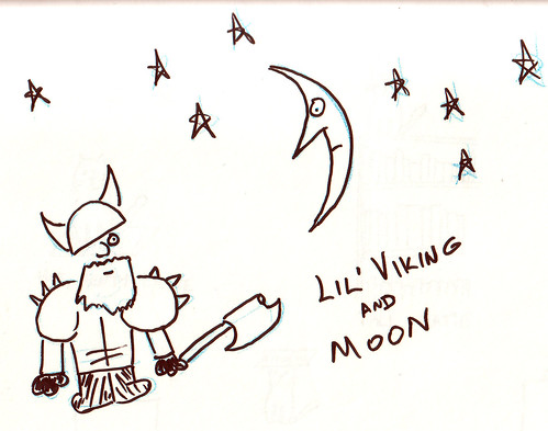 366 Cartoons - 111 - Lil' Viking and Moon
