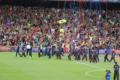 Celebraci del Triplet al Camp Nou (El Dem) Tags: barcelona catalunya triplet campnou bara copa pasoscatalans fcb celebraci futbolclubbarcelona lligaichampions festadelbarcelonisme celebracichampions