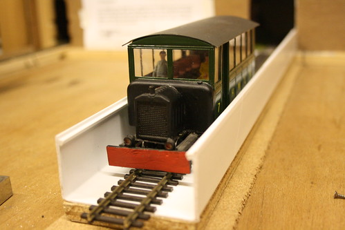 Railcar in new style cassette
