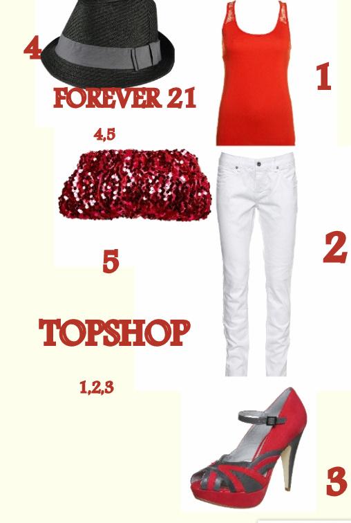 Forever21 Topshop