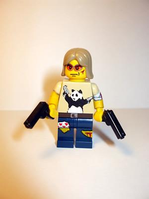 Gun-fu Panda custom minifig