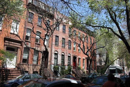 Houses in Greenwich Village
