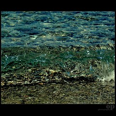SPLASH!!! (Osvaldo_Zoom) Tags: sea beach home water flood stones wave clean splash casamia messinastrait gallicomarina unabellacasa