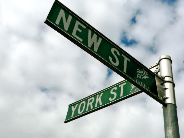 New Street York Street