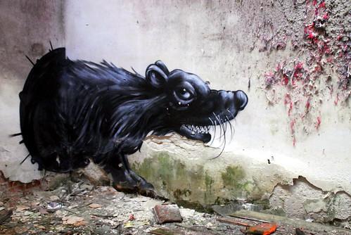 Roa Urbex Graffiti