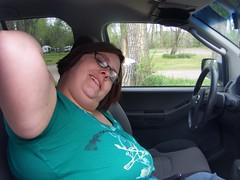 amanda's armpit (bradleygee) Tags: columbus amanda armpit montana mt interior roadtrip steeringwheel xterra 59019