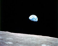 Earthrise, Seen From the Moon (NASA, Moon, 6/1...