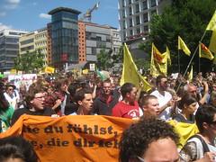 Viele Studenten haben protestiert - aber auch viele Schüler