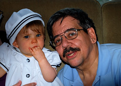 Grandpa and Natalie 1