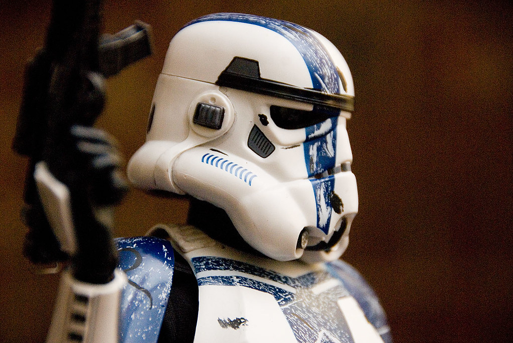 12 inch Stromtrooper Commander Force Unleashed 3658352058_cc1d83a666_b