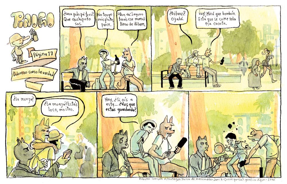 PÁGINA 17: DOLOROSO COMO LA VERDAD