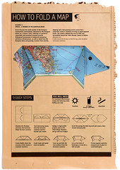How To Fold (DimitraTzanos) Tags: coffee pig newspaper origami europe maps culture eu sunny athens greece fold economic mapping economy europeanunion infographic rhetoric opinion 2010 debt crises datavisualization eurozone