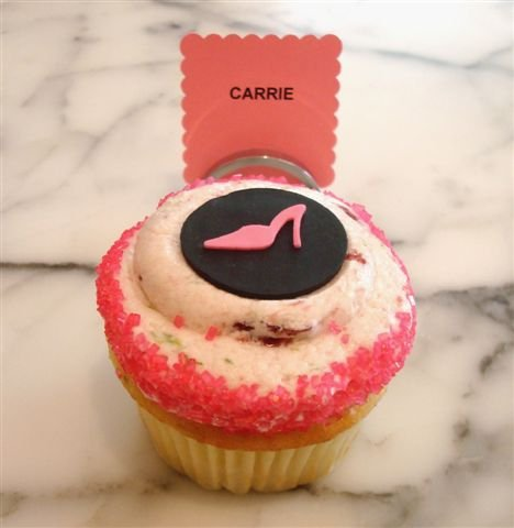 Cupcakes Take The Cake: Sex and the City character cupcakes for sale ...