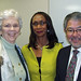 Connie Talmage, Carolyn Jefferson Jenkins, Rod Yokooji