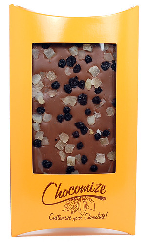 Chocomize Milk Chocolate Custom Candy Bar