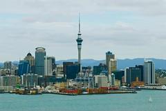Auckland New Zealand (Catching Magic) Tags: city newzealand urban nikon harbour auckland tiraudan waitemata