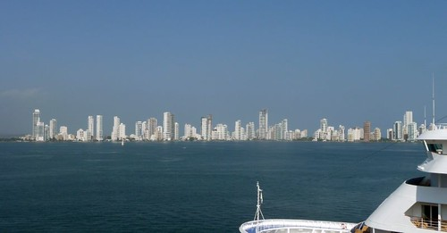 City skyline - Cartagena, Columbia