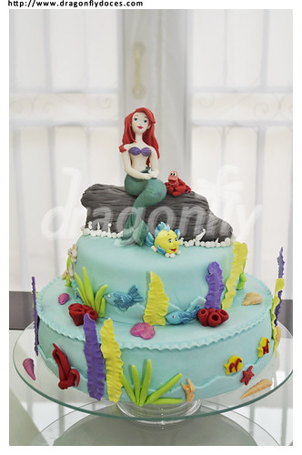 Little Mermaid Cake II / Bolo A Pequena Sereia II