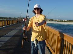 P1000650 (jonphotos) Tags: trip fish beach pier fishing florida shore fl bastard caught hardtail