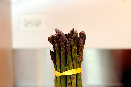 asparagus from the farmer's market