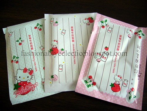 Sunnanz order: My Beauty Diary x Hello Kitty collab masks