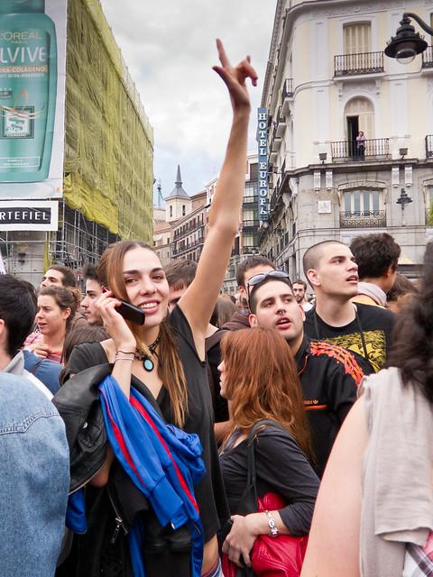 #AcampadaSol #nonosvamos #Spanishrevolution