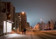 20101215_11187b (Fantasyfan.) Tags: road street winter cold topv111 tag3 taggedout night finland dark topv333 frost tag2 tag1 10c add oulu walkers alppila fantasyfanin