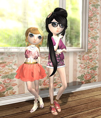 We're So Cute, CuCute, Cute, Cute... (Samie Flux) Tags: natural lamb fairytail loq solesisters amaama clawtooth milkmotion vive9 awramviie riceilli