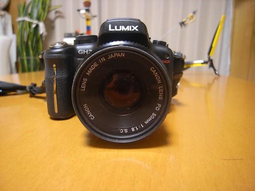 CANON LENS FD 50mm 1:1.8